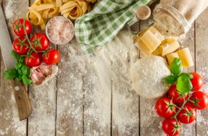 Ingredients for Italian dishes